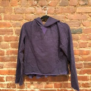 Purple Lululemon Sweatshirt Size 6